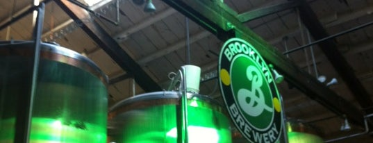Brooklyn Brewery is one of New York City - April 2013.