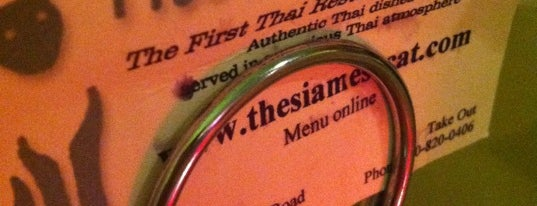 Siamese Cat Thai Restaurant is one of Guide to Tempe's best spots.