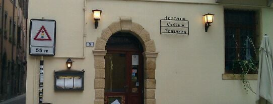 Hosteria La Vecchia Fontanina is one of ** Eat & Drink in Verona **.