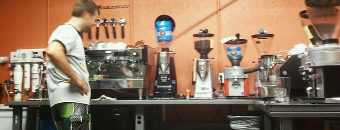 Cuvée Coffee Roasting Company is one of Burket's Texas Visit.