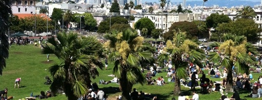 "Mission Dolores Park is one of The Perfect ""Mom-in-Town"" Activities (Bay Area)."