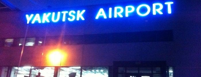 Yakutsk Airport (YKS) is one of Airports - worldwide.