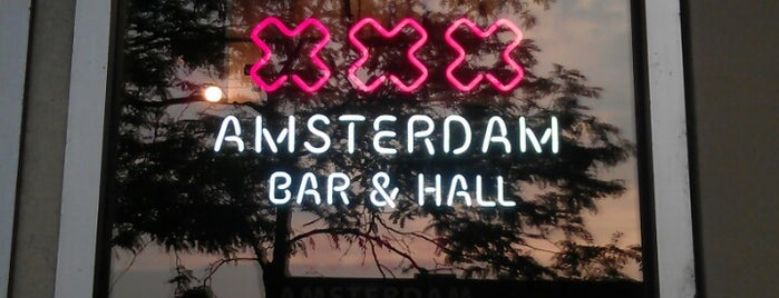 Amsterdam Bar & Hall is one of St. Paul.