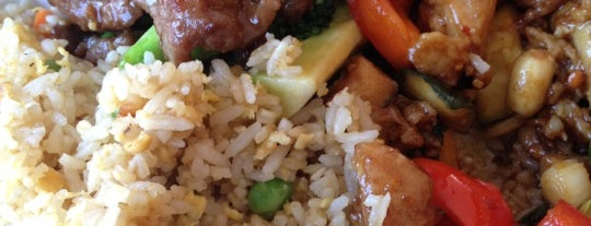 Panda Express is one of School lunch.