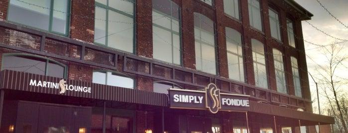 Simply Fondue is one of สถานที่ที่บันทึกไว้ของ Joe.