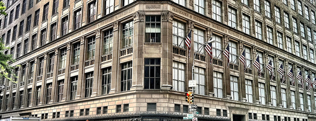 Saks Fifth Avenue is one of The New Yorker's About Town.