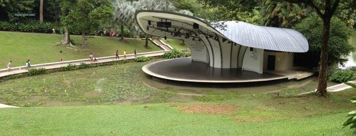 Singapore Botanic Gardens is one of Singapore.