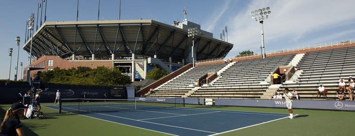 Court 7 - USTA Billie Jean King National Tennis Center is one of US Open Courts.