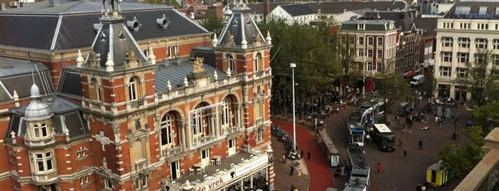Leidseplein is one of Amsterdam!.