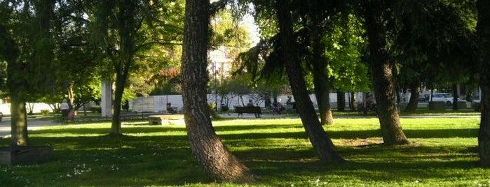 """Парк """"Жена борец"""" is one of Skopje."""
