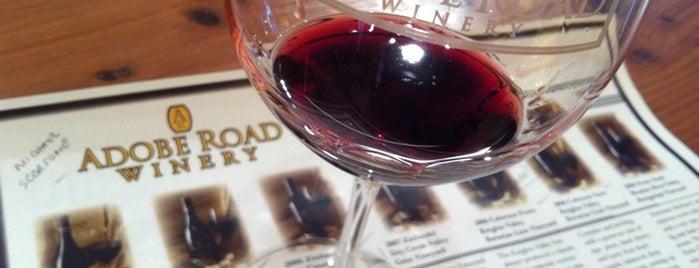 Adobe Road Winery is one of Wineries / Vineyards.