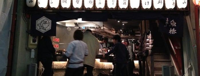 立呑み 魚椿 is one of 名古屋.