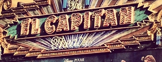 El Capitan Theatre is one of LA spots.