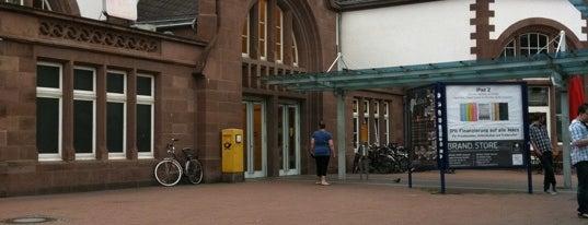 Bahnhof Herford is one of Bahnhöfe besucht !.