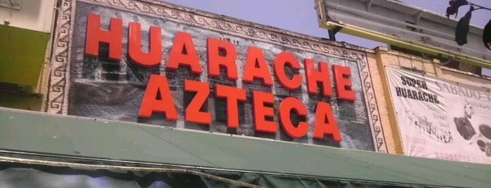 El Huarache Azteca is one of LA.