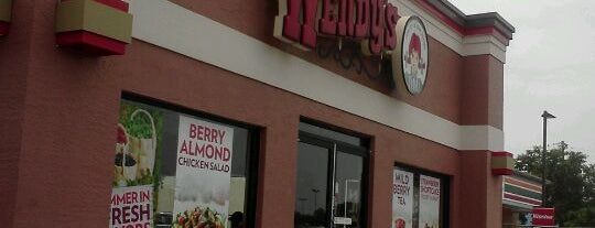 Wendy's is one of Lunch List.