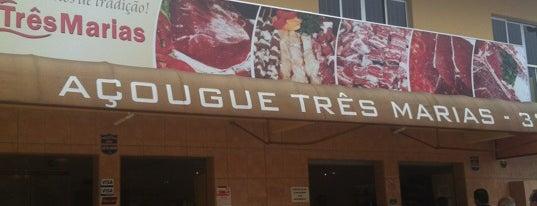 Açougue Três Marias is one of Maa 님이 좋아한 장소.