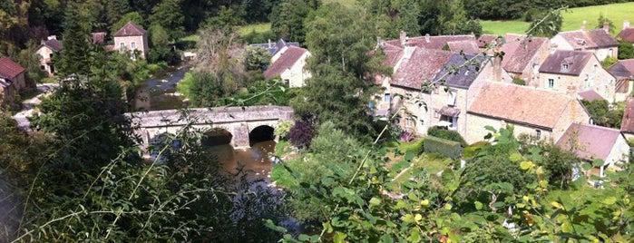Saint-Céneri-le-Gérei is one of Les plus beaux villages de France.