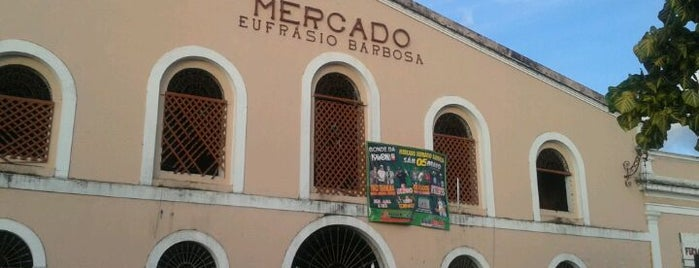 Mercado Eufrásio Barbosa is one of Kitさんの保存済みスポット.
