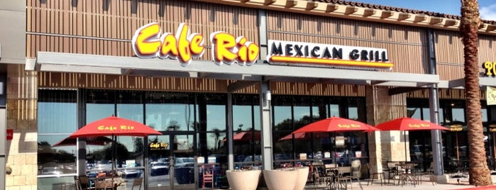Cafe Rio Mexican Grill is one of Chrisさんのお気に入りスポット.