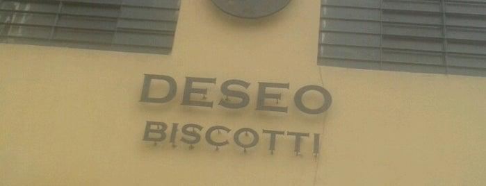 Deseo Biscottificio is one of Mangiare.