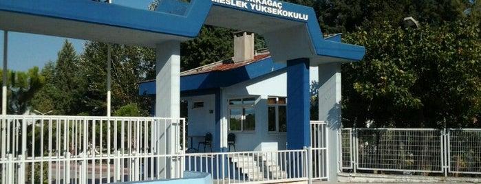 Kırkağaç Meslek Yüksekokulu is one of สถานที่ที่ Berkin ถูกใจ.