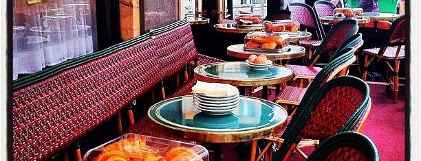 Café de Flore is one of Paris.