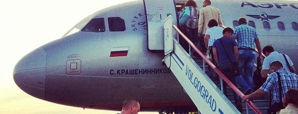 Aeroporto Internacional de Volgogrado (VOG) is one of Top 50 venues in Volgograd.