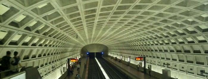 Ballston-MU Metro Station is one of Around Town.