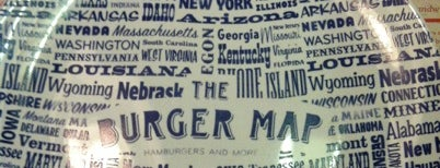 The Burger Map is one of Lugares guardados de Gabi.