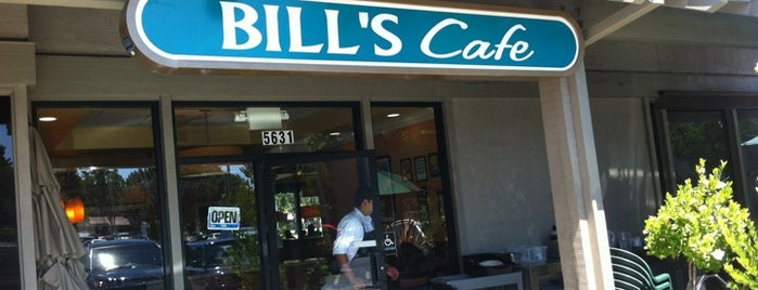 Bill's Cafe is one of Tempat yang Disukai Elijah.