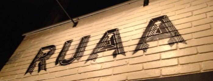RUAA is one of Restaurants.