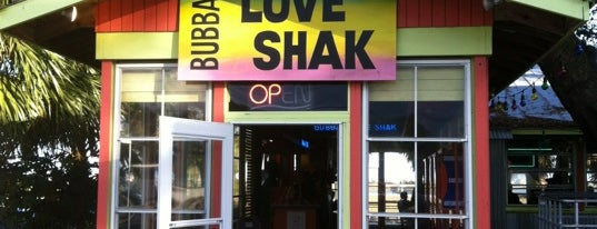 Bubba's Love Shack is one of Tempat yang Disimpan Lizzie.