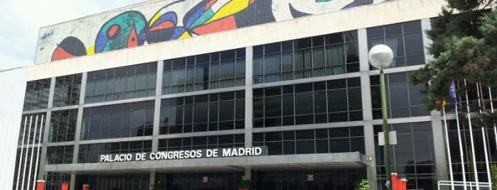 Palacio de Congresos de Madrid is one of The Best Of Madrid.