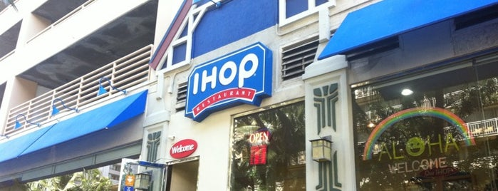 IHOP is one of ハワイ行きたいところリスト.
