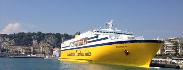Corsica Ferries is one of Cannes Film Festival.