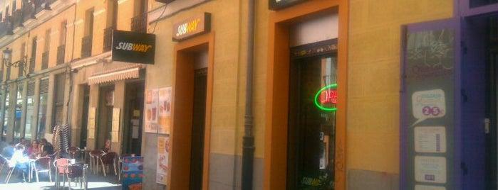 Subway is one of Comer en Madrid.