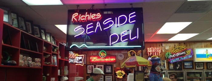 Hugh & Richie's Seaside Deli & Market is one of Local Treasures.