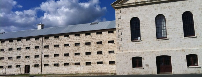 Fremantle Prison is one of Perth.