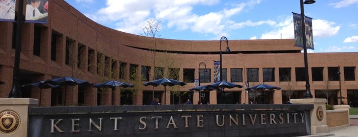 Kent Student Center is one of Kent State.