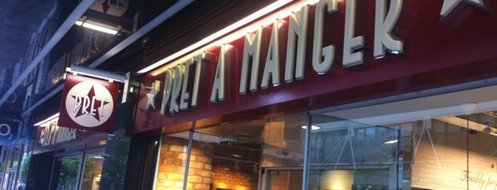 Pret A Manger is one of American Express - Venue list.