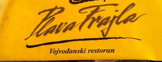 Plava frajla is one of Out of Belgrade.
