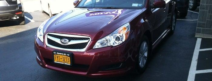 Westchester Subaru is one of Tempat yang Disukai Kevin.