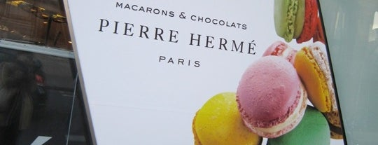 Pierre Hermé is one of  Paris Eat .