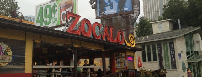 Zocalo Mexican Kitchen & Cantina is one of ATL says HELLO.