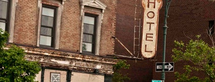 The Keller Hotel is one of Abandoned NYC.