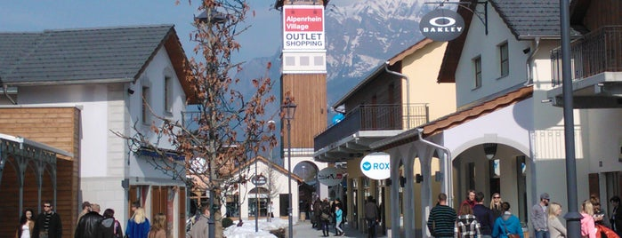 Landquart Fashion Outlet is one of Outlets Europe.