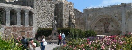 Mission San Juan Capistrano is one of California Favorites.