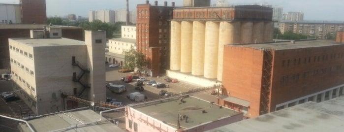 Останкинский пивоваренный завод is one of Jano : понравившиеся места.