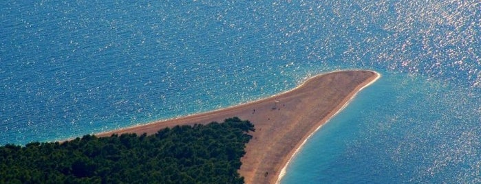 Zlatni Rat is one of Bridget'in Beğendiği Mekanlar.